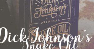 Dick Johnson Snake Oil Bartöl